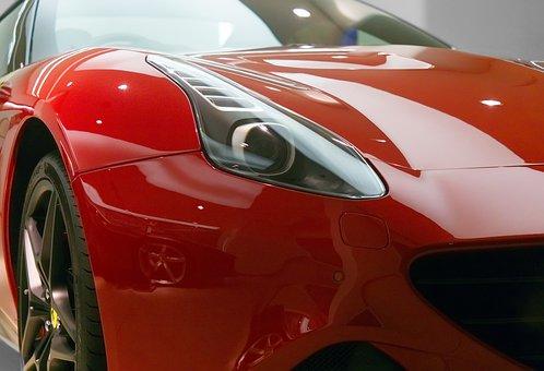 Ferrari, Car, Sports, California, Red, Vehicle, Design