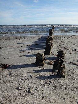 Beach, Sea, Baltic Sea, By The Sea, Beach Sea