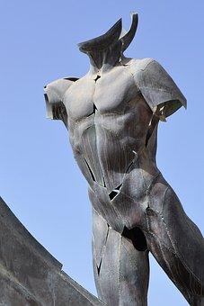 Body, Sculpture, Almuñecar, Statue