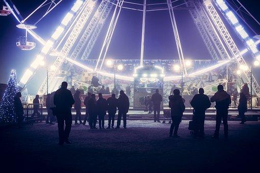 Tourist, Attraction, Big Wheel, Fairground, Fair