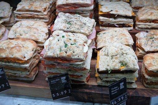 Eat, Bread, Food, Street Food, Market, Ciabatta