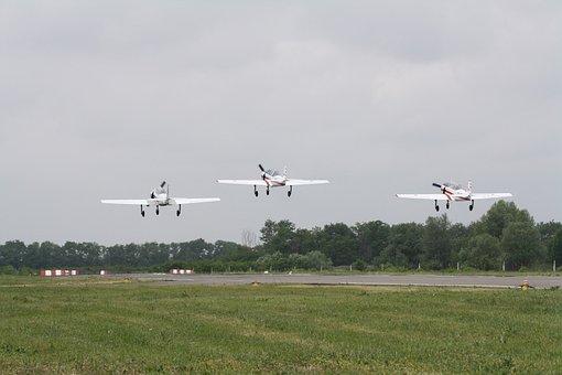 Airplane, Airport, Flight, Aviation, Air Show, Runway