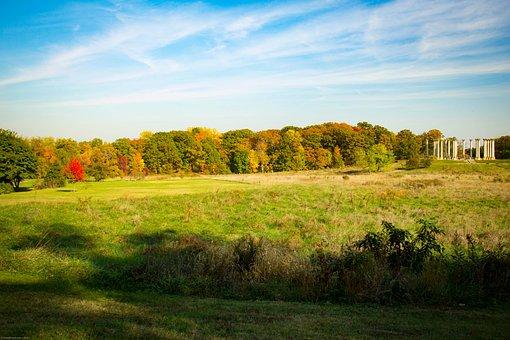 National Arboretum, Foliage, Fall, Memorial, Park