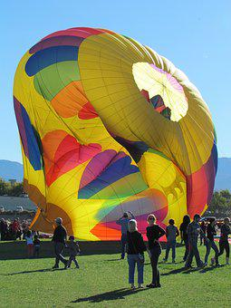 Hot Air, Balloon, Hot Air Balloons, Sky, Colorful