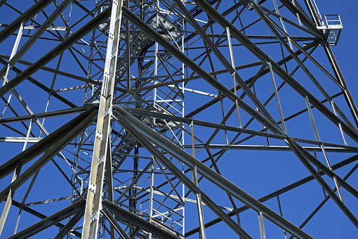 Steel, Tower, Steel Tower, Transmission Tower, Power