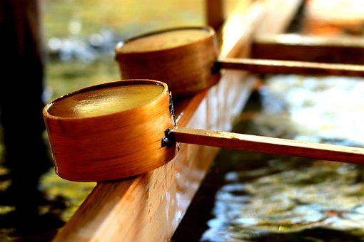 Wood, Water, Spoon, Drink, Liquid, Cleaning, Prayer