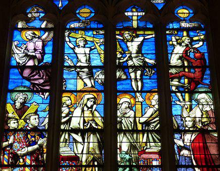 Window, Church Window, Church, Stained Glass, Color