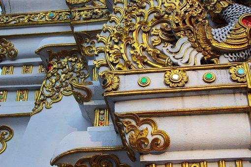 Design, Ornate, Gold, Decoration, Ornament, Vintage