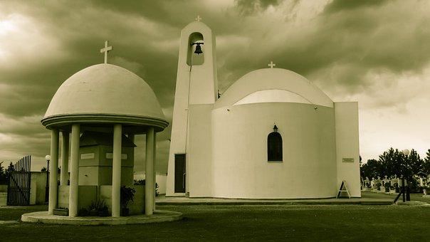 Cyprus, Dherynia, Church, Orthodox, Religion