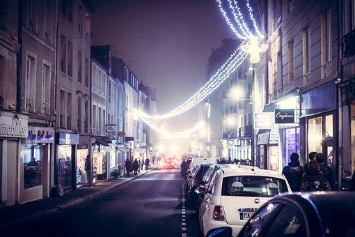 Tourism, City, Christmas Decorations, Christmas, Lights