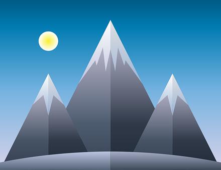 Mountain, Split, Papercut, Paper, Cut, Fold, Outdoor