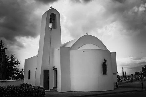 Church, Cyprus, Dherynia, Orthodox, Religion
