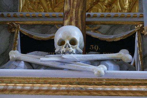 Bone, Skull, Skull And Crossbones, Weird, Death, Creepy