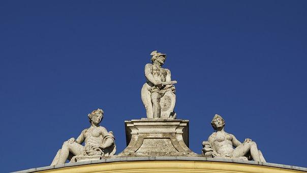 Orangery, Kassel, Detail, Statue, Baroque, Castle