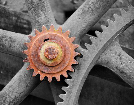 Gear, Technology, Gears, Function, Drive, Together
