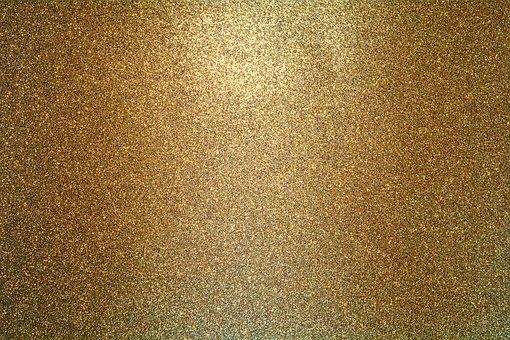 Background, Gold, Cute, Texture, Glitter