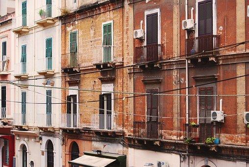 Taranto, Buildings, Old Buildings, Beautiful
