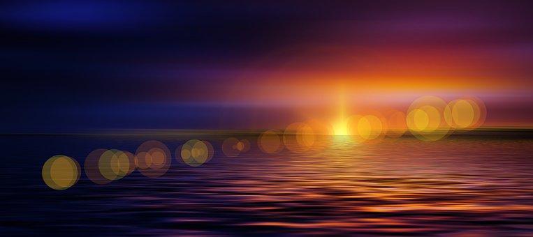 Sunset, Cloud, Meditation, Mindfulness, Sky, Red, Font