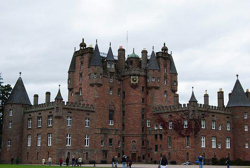 Castle, Glamis, Scotland, Angus, United Kingdom