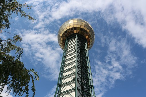 Sun Sphere, Tennessee, Knoxville, Downtown, Park