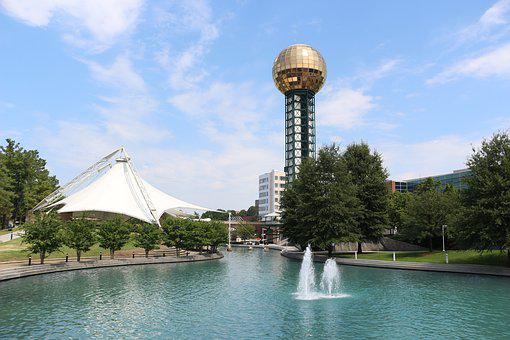Tower, Knoxville, Park, Tennessee, Landmark, Travel