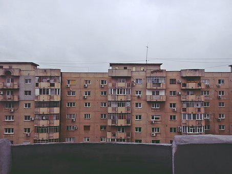 City, Blocks, Architecture, Urban, Town, Apartment
