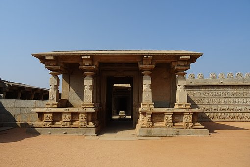 Hazara Rama Temple, Hampi, Unesco, Site, Monument