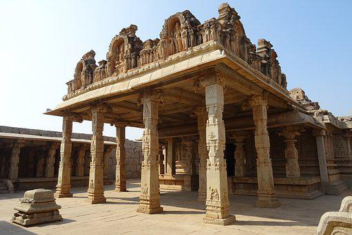 Hazara Rama Temple, Hampi, Unesco, Site, Sculpture