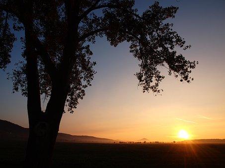 Baranya, South County, Villany Hills, Sunrise, Dawn