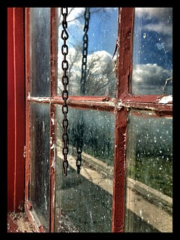 Minidoka, Internment Camp, Idaho, Japanese, Window