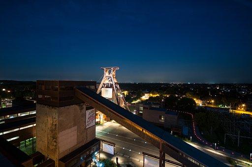 Bill, Zollverein, Eat, Ruhr Museum, Mine, Headframe
