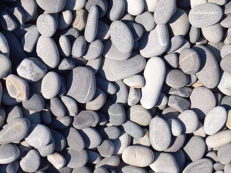 Rhinestones, Beach, Background, Pebbles, Pebble Beach
