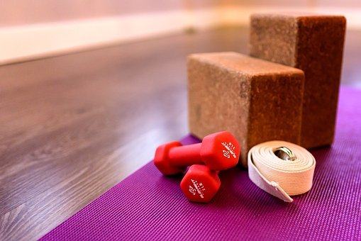 Fitness, Block, Mat, Health, Training, Weights