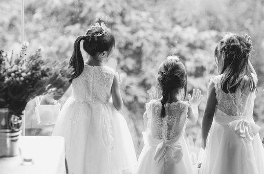 Kids, Dress, Girl, Party