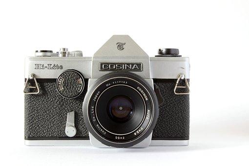 Analog, Camera, Hipster, Analog Camera, Lens, Old