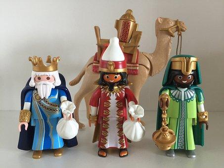 Playmobil, Figure, Toys, Magi, Cliks, Melchor, Gaspar