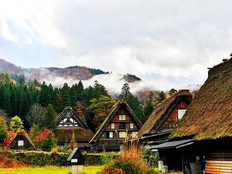 Natural Heritage, Japan, Gifu, Countryside