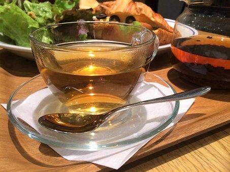 Tea, Earl Grey, Transparency, Glass Cup, Pot, Amber