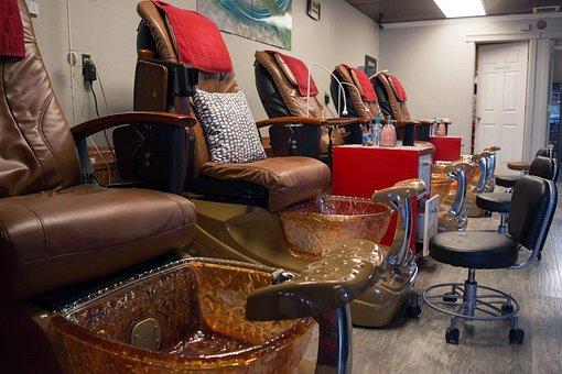 Pedicure, Manicure, Treatment, Spa, Salon, Feet, Relax