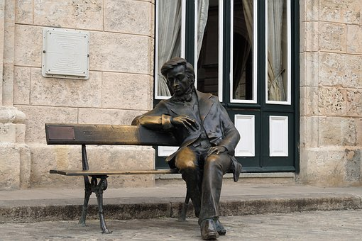 You Sit, Bench, Frederico Chopin, Havana, Square