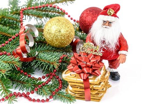 Merry Christmas, Mikołajki, Nicholas, Gift