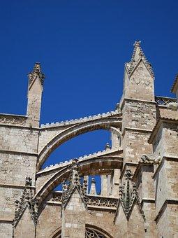 Mallorca, Architecture, Palm De Mallorca, Cathedral