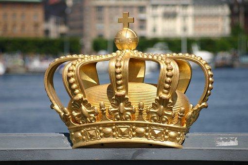 Crown, Sweden, Stockholm, Skeppsholmsbron