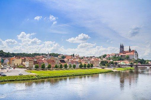Meissen, Dom, Albrechtsburg Castle, Saxony, Castle