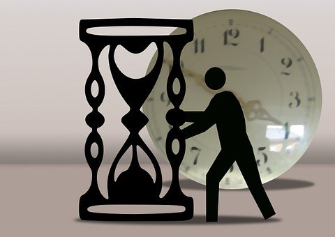 Man, Silhouette, Time, Amount Of Time, Clock, Pay