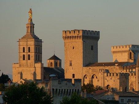 Avignon, France, Palais Des Papes, Historically