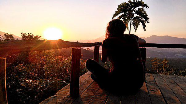 Sunset, Peace, Energy, Meditation, Healthy, Relaxation