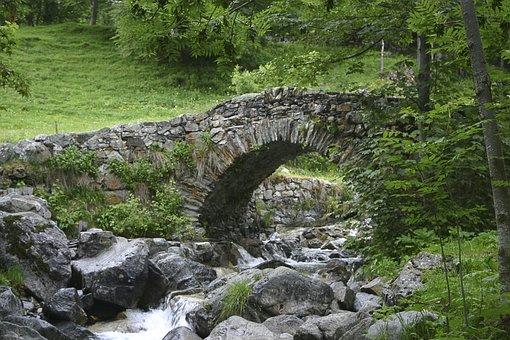 Pyrennées, Bridge, Creek