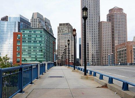 Building, Boston, Usa, Facade, America, Skyscraper