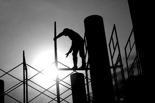 Construction, Worker, Concrete, Work, Labor, Task